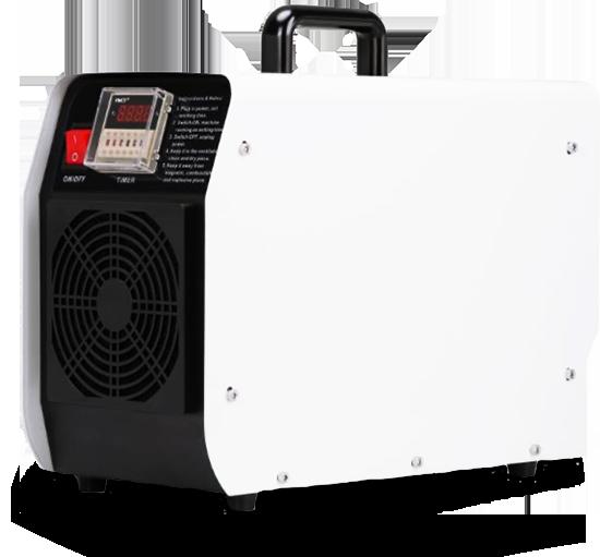 Generatore di Ozono professionale per la sanificazione di aziende e di ambienti domestici.